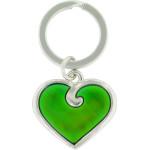 Heart Shaped Mood Key Chain