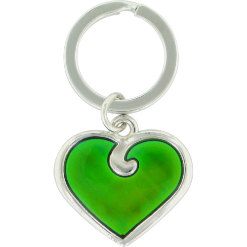 Heart Shaped Mood Key Chain