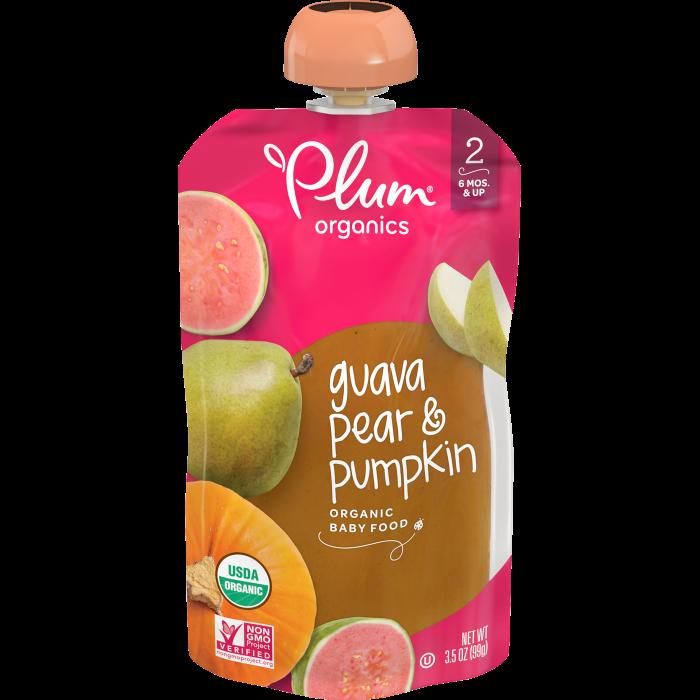 Guava, Pear & Pumpkin Baby Food