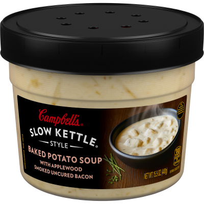 Baked Potato with Bacon Soup