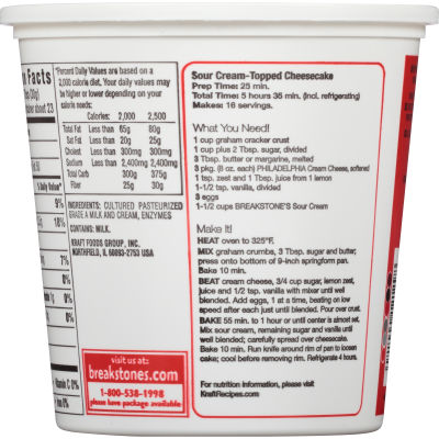 Breakstone's All Natural Sour Cream 24 oz Tub