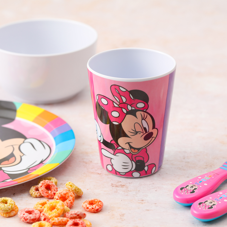 Disney Kid's Dinnerware Set, Minnie Mouse, 3-piece set slideshow image 3