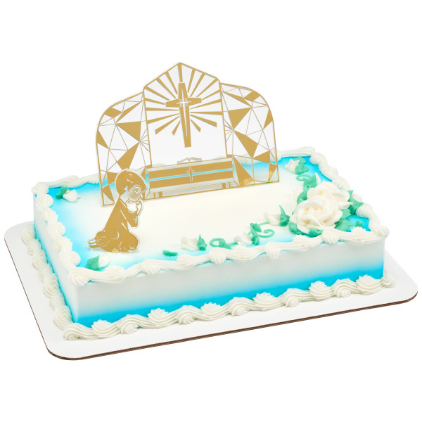 Communion Boy Cake Kit