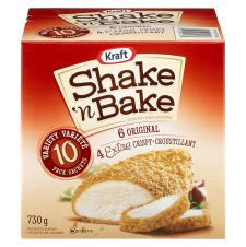 Shake 'N Bake Coating Mix Variety Pack