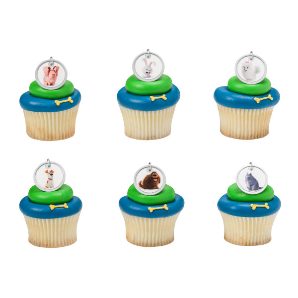 The Secret Life of Pets™ Dog Tags Cupcake Rings
