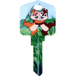 Disney Chip 'N' Dale Key Blank