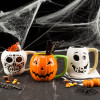Halloween 15 ounce Coffee Mug and Spoon, Sugar Skull slideshow image 5