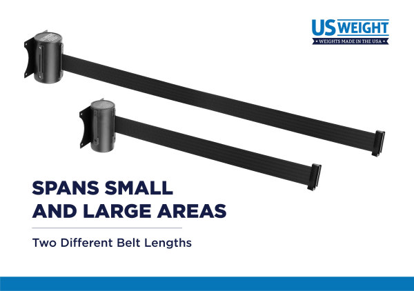 Wall Mount - Black with 8' CAU belt 4