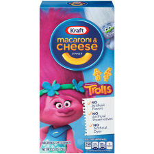 Kraft DreamWorks Trolls Macaroni & Cheese Dinner