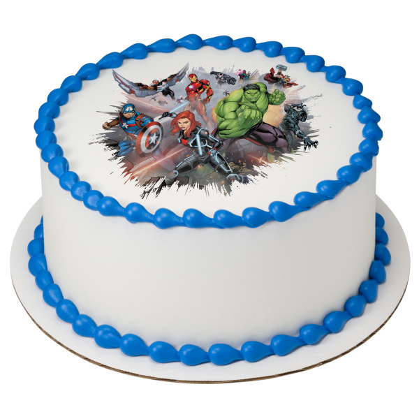 MARVEL Avengers I Am An Avenger PhotoCake® Edible Image®