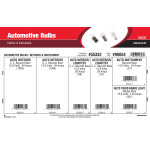 Automotive Bulbs Assortment (Interior & Instrument)