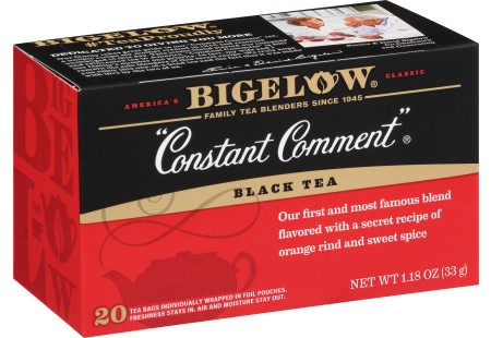 Constant Comment Tea - Case of 6 boxes - total of 120 teabags