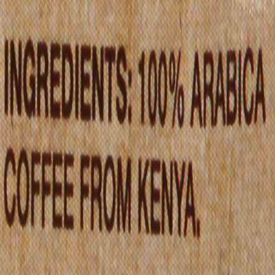 Gevalia Regular Kenya Whole Bean Coffee 8 oz Bag