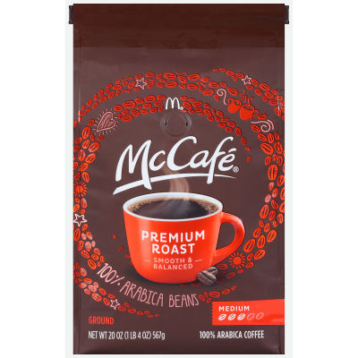 McCafé Premium Roast Ground Coffee 20 oz Bag