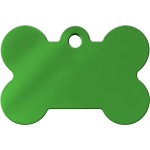 Green Large Bone Quick-Tag
