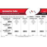 Automotive Bulbs Assortment (#168, #193, #194NA, #906, #912, #916, #922)