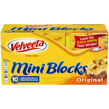 Velveeta Mini Blocks 40 oz Box