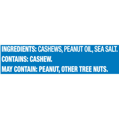 Planters Lightly Salted Cashew Halves & Pieces, 8 oz Canister