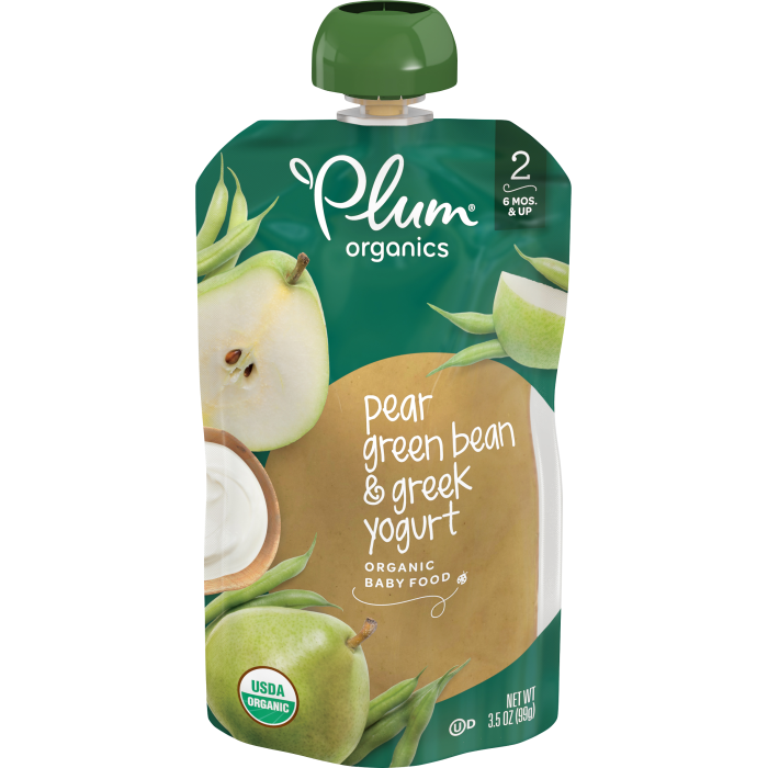 Pear, Green Bean & Greek Yogurt, 3.5oz