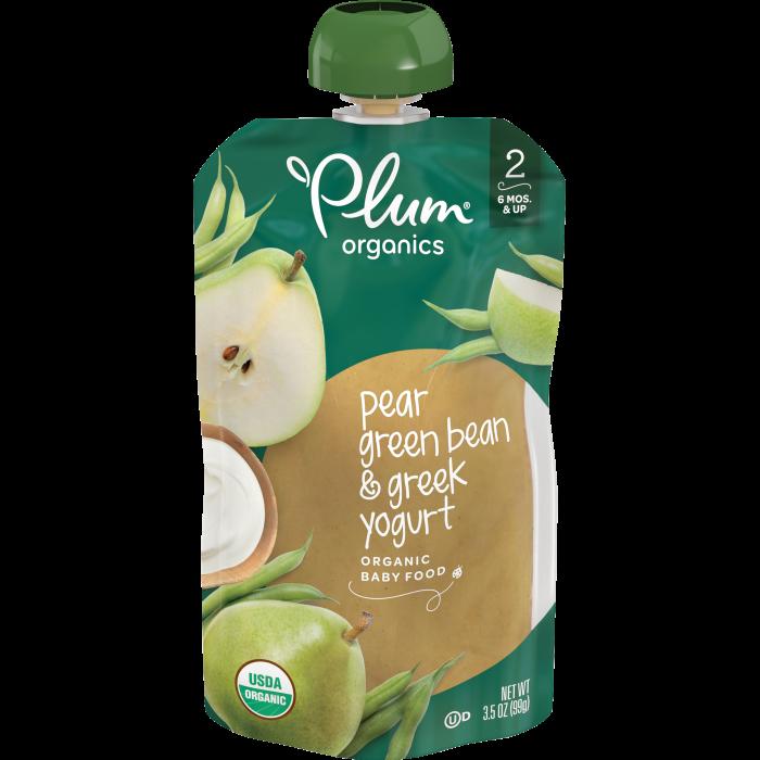 Pear, Green Bean & Greek Yogurt, 3.5oz