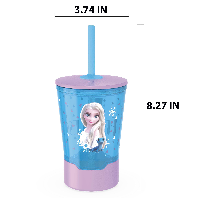 Disney Frozen 2 Movie 16 ounce Mighty Mug Tumbler with Straw, Princess Elsa slideshow image 6