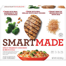 Smart Made Smart Ones Spicy Peanut Chicken & Broccoli 9 oz Box