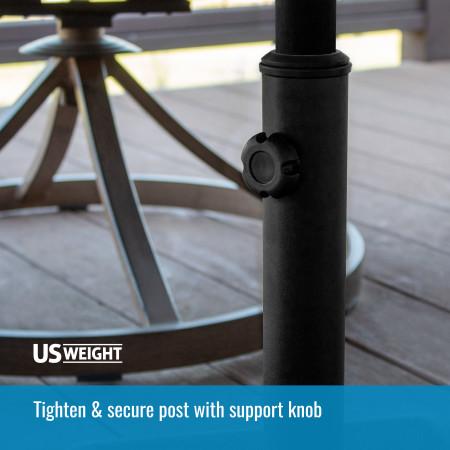 26 lb Umbrella Base - Black 5