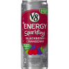 Sparkling Healthy Energy Drink, Natural Energy from Tea, Blackberry Cranberry