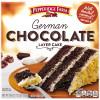 Frozen German Chocolate Layer Cake