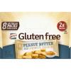 Gluten Free Peanut Butter Sandwich Crackers