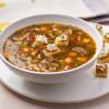 Campbell's® Signature Frozen Condensed Healthy Request Portobello Mushroom and Barley Soup