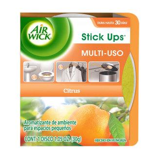 AIR WICK STICK UPS AROMATIZANTE DE AMBIENTE CITRUS, 30 g
