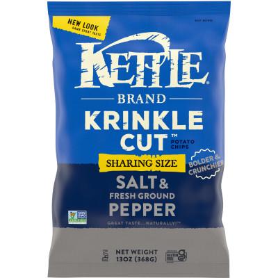 Krinkle Cut™  Salt & Ground Pepper Potato Chips