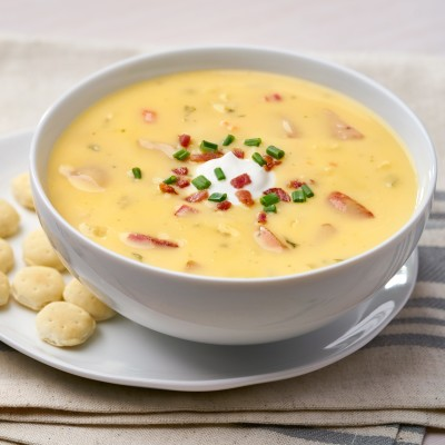 Campbell's® Signature Frozen Condensed Cheese and Red Potato Chowder