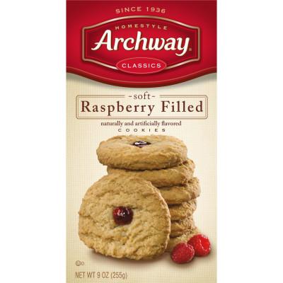 Raspberry Filled Cookies
