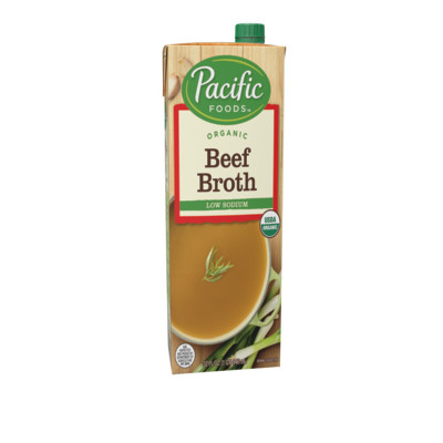 Organic Low Sodium Beef Broth