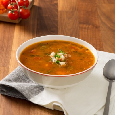 Campbell's® Signature Frozen Condensed Vegetarian Minestrone Soup