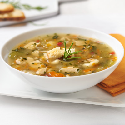Campbell's® Signature Frozen Condensed Healthy Request Rosemary Chicken and Dumpling Soup