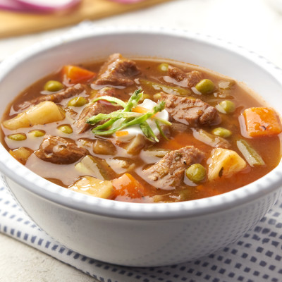 Campbell's® Signature Frozen Ready to Eat Soup Beef Pot Roast Soup