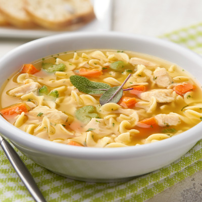 Campbell's® Signature Frozen Condensed Roasted Chicken Noodle Soup