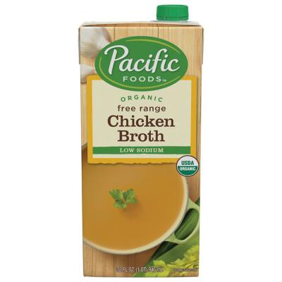 Organic Low Sodium Chicken Broth