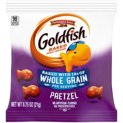 Pepperidge Farm® Goldfish Whole Grain Snack Crackers, Pretzel
