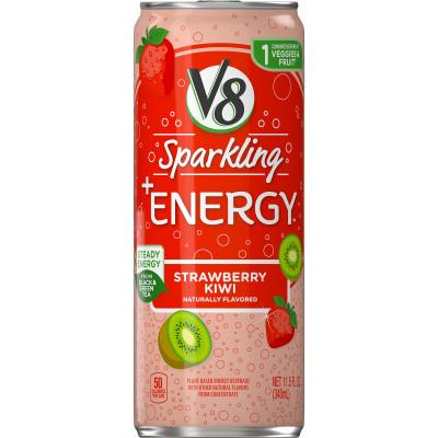 V8 Sparkling +Energy™, Strawberry Kiwi