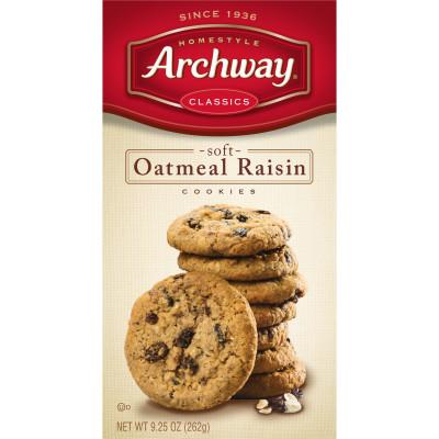 Oatmeal Raisin Classic Soft Cookies