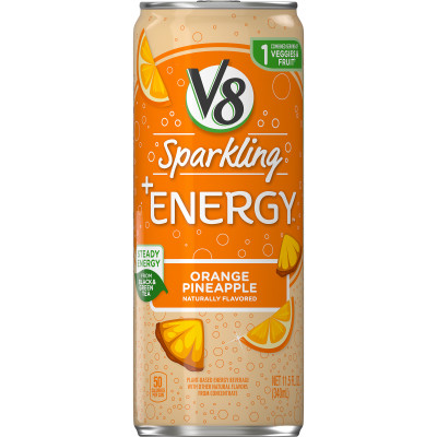 V8 Sparkling +Energy™, Orange Pineapple