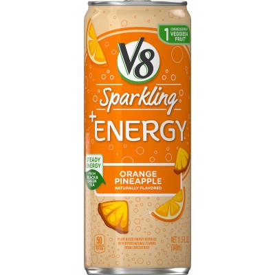 V8 Sparkling +Energy™, Orange Pineapple