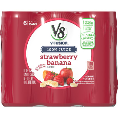 Juice Blend, Strawberry Banana