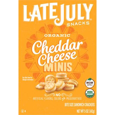 Cheddar Cheese Sandwich Crackers