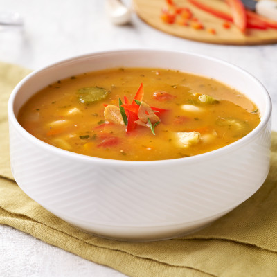 Campbell's® Signature Frozen Condensed Healthy Request Tuscan-Style White Bean with Chicken Soup