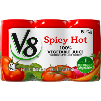 Spicy Hot 100% Vegetable Juice